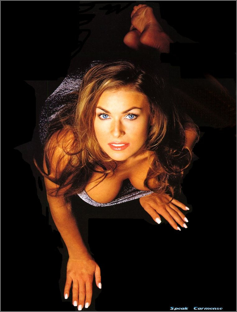 Carmen Electra Pic on the floor