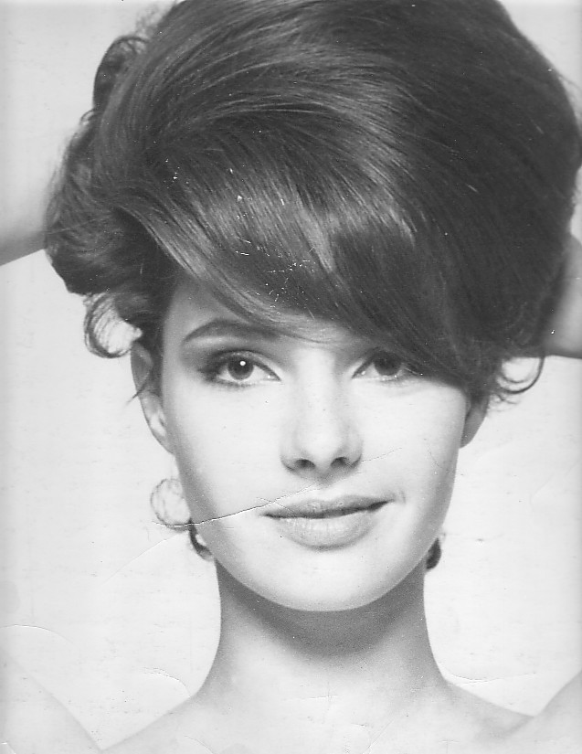 There's no hair style like the bee hive. Thank goodness. But here's Jennifer Young, actually looking quite pretty