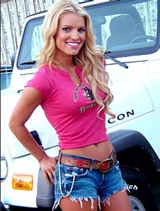 Jessica Simpson picture as Daisy Duke