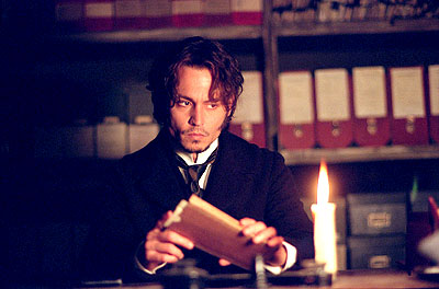 Johnny Depp as Inspector Fred Abberline in From Hell (2001)